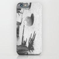 Cacti - in Black & White iPhone 6 Slim Case