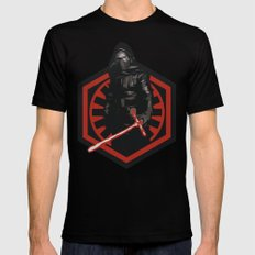 First Order Kylo Ren Mens Fitted Tee Black SMALL