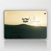 Let Your Light Shine - M… Laptop & iPad Skin