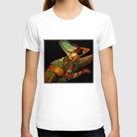 rose T-shirts featuring KARMA CHAMELEON by Catspaws