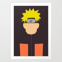Naruto Shippuden - Narut… Art Print