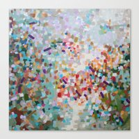 Constellation Darts  Canvas Print