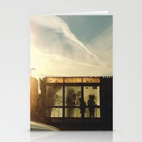 Bus Stop - Woodward Ave Stationery Cards