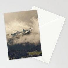 Mountains through the Fog Stationery Cards