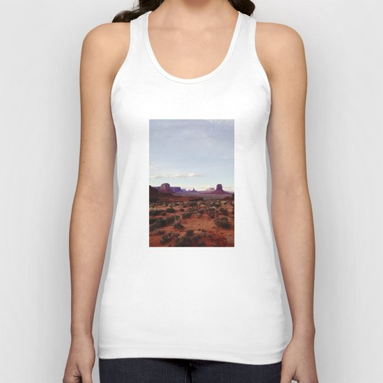 Monument Valley View Unisex Tank Top