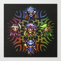 FF4 To The Center Of The… Canvas Print