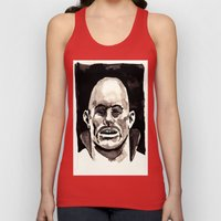Driver Mask Unisex Tank Top