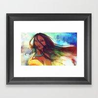 The Wind... Framed Art Print