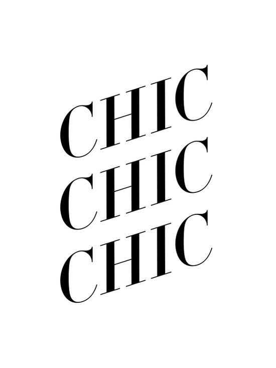 Chic II Art Print