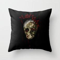 skull#01 Throw Pillow