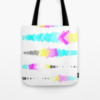 Printer Squares Tote Bag