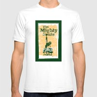 The Mighty Souls: Soul &… Mens Fitted Tee White SMALL