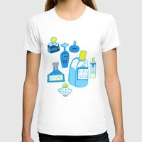Fragrance Womens Fitted Tee White SMALL