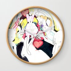 Whe love Fashion 2 Wall Clock