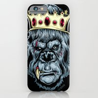 iPhone & iPod Case featuring KONG by Steven Luros Holliday
