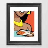 Pleasure Control Framed Art Print
