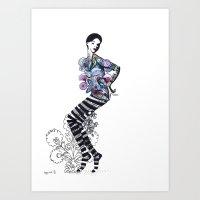 wycinanki Art Print