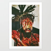 Jesus #2 Art Print
