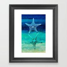 STARS OF THE SEA Framed Art Print
