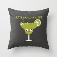 Marge In Charge Throw Pillow