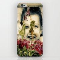 Fairies At The Window iPhone & iPod Skin