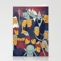The Return Of The King Stationery Cards
