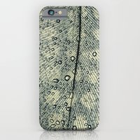 feather iPhone & iPod Cases featuring feather by Ingrid Beddoes