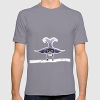 Weird Bird Mens Fitted Tee Slate SMALL