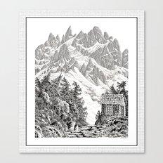BEYOND MOUNT SHUKSAN BLA… Canvas Print