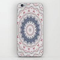 Dreamcatcher Berry & Blue iPhone & iPod Skin