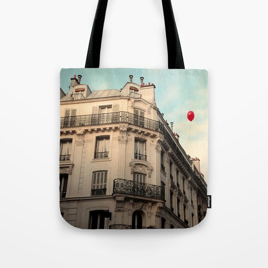 Balloon Rouge Tote Bag
