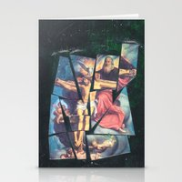 jesus Stationery Cards featuring Jesus by Ibbanez
