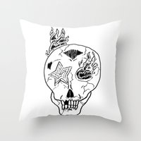 YOUNG GOLD Throw Pillow