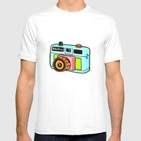 Holga camera Mens Fitted Tee White SMALL