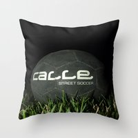 Calle-Swag District. Throw Pillow