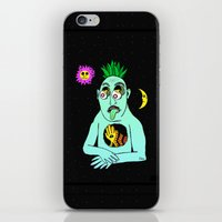 Trippy Face iPhone & iPod Skin