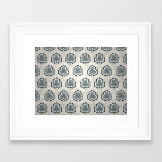 Kaleidoscope 003 Framed Art Print