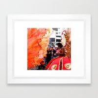 Yes, Gial Framed Art Print
