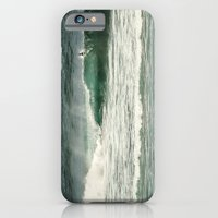 iPhone Cases featuring Dans le creux de la vague by Sébastien BOUVIER