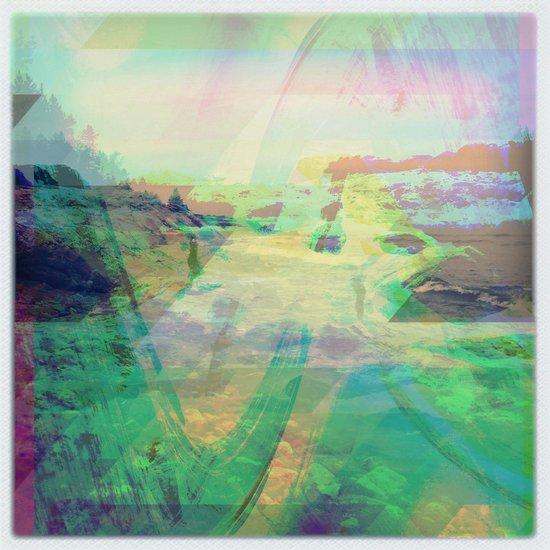 Lake Superior Meditations #5 Art Print