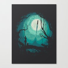 After Cosmic War Canvas Print