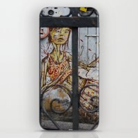 Salvador Street Art iPhone & iPod Skin