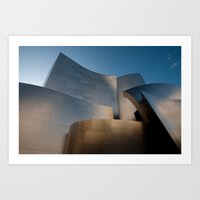 Disney Concert Hall 5 Art Print