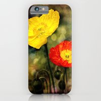 Yellow and Red Poppies iPhone 6 Slim Case