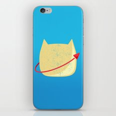 CatStronaut Emblem iPhone & iPod Skin
