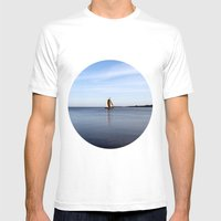 Nida Mens Fitted Tee White SMALL