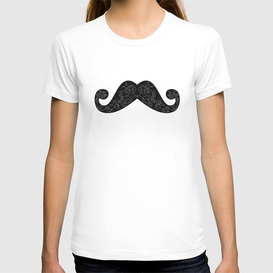 Dia De Los Mustache T-shirt