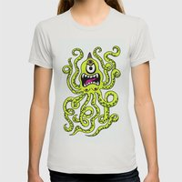 Monster Week, Day 2 Womens Fitted Tee Silver SMALL