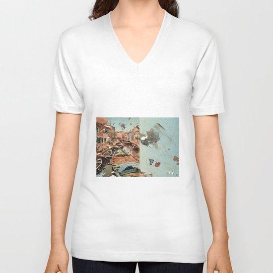 Little Italy V-neck T-shirt