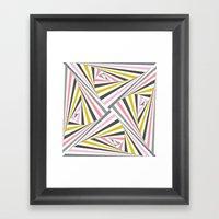 TwiangleQuatro Framed Art Print